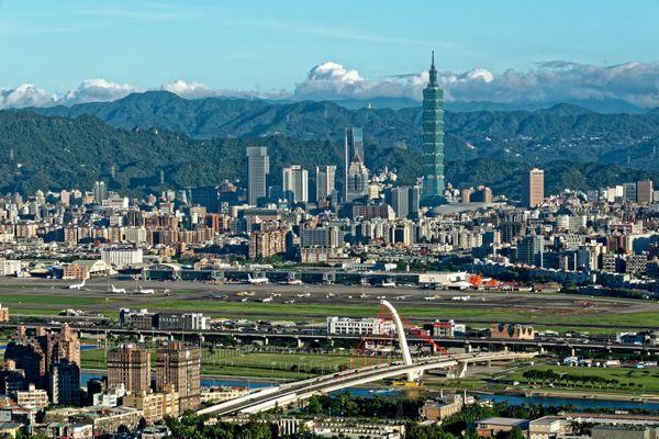 Landscape nearby Taipei Airport. thumbnail