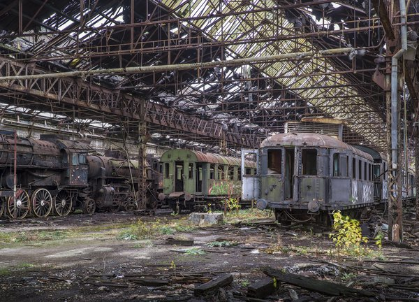 Disused train yard thumbnail