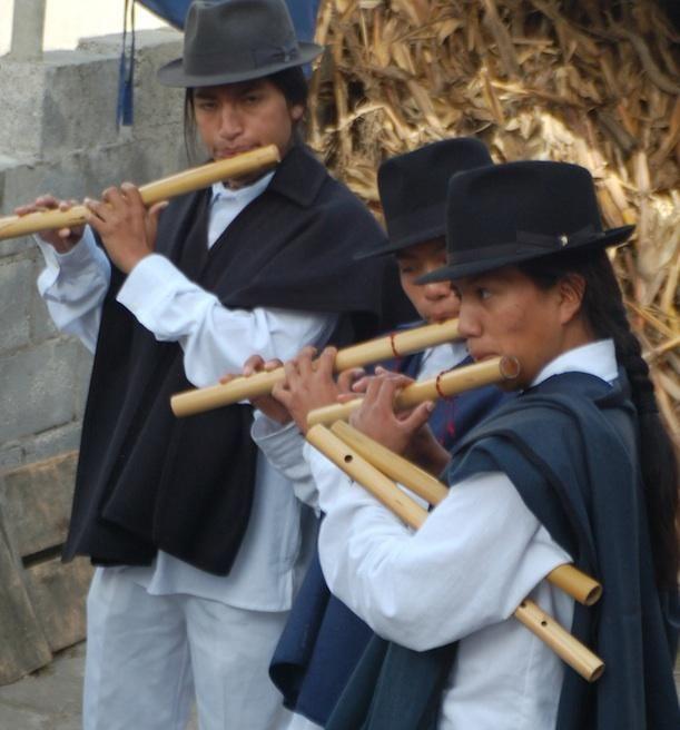 Listen to the Flutes of Ecuador, Then Catch Them Live