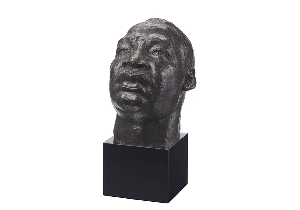 Martin Luther King by Charles Alston