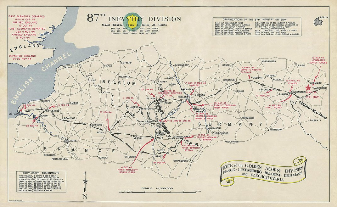 The Untold Story of the Secret Mission to Seize Nazi Map Data