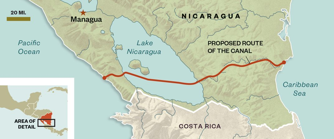 A New Canal Through Central America Could Have Devastating Consequences