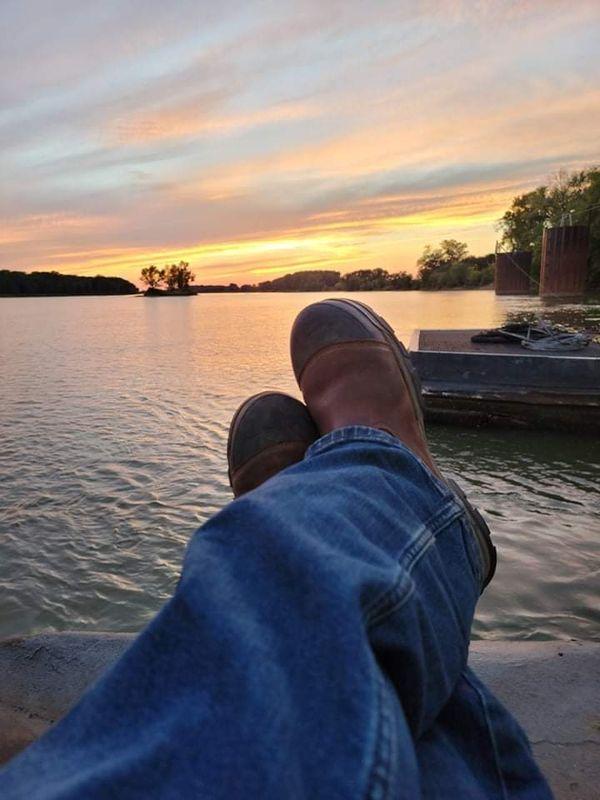 Watching the sunset. thumbnail
