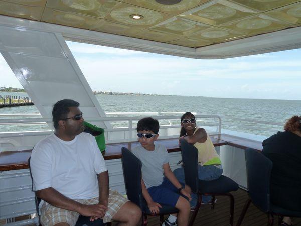 On a boat in Galveston. thumbnail