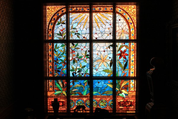 Stained Glass in the Ballantine House thumbnail
