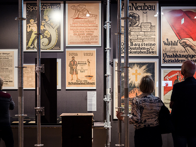 """""""We didn't just want to view Weimar from its ending,"""" exhibition curator Simone Erpel says"""