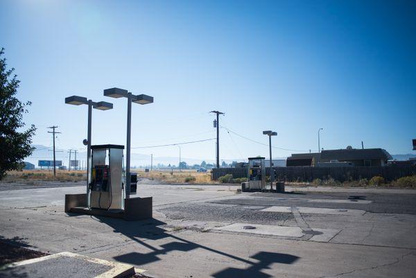 Deserted Gas Station, Beaver thumbnail