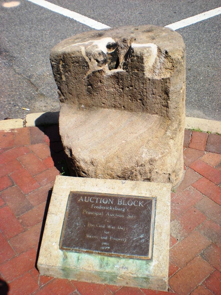Fredericksburg's Slave Auction Block Will Be Moved to a Museum