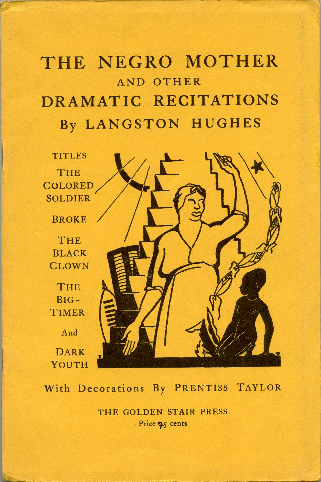 Book of poetry by Langston Hughes
