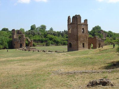 Italy is hoping to draw tourists to less-frequented parts of the country, like sites along the Appian Way, pictured here.