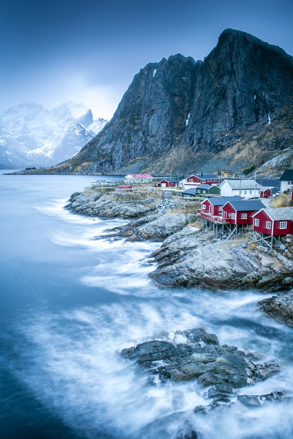 Rainy Day in Lofoten, Norway thumbnail