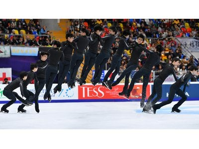 Every dazzling jump on the ice—like Yuzuru Hanyu's quadruple Lutz at the 2017 Grand Prix of Figure Skating in Moscow, Russia—requires a mastery of balance, rotational speed and angular momentum.
