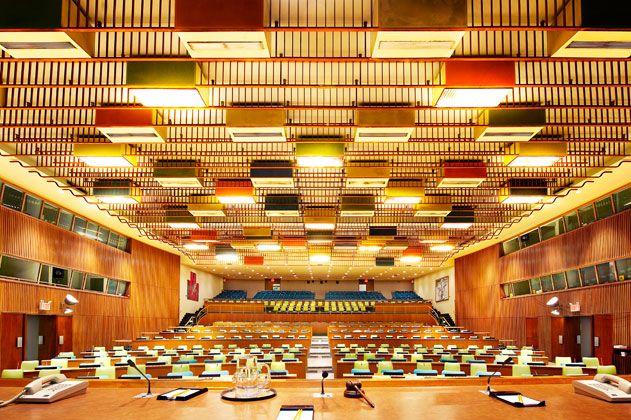 UN Trusteeship Council in New York City