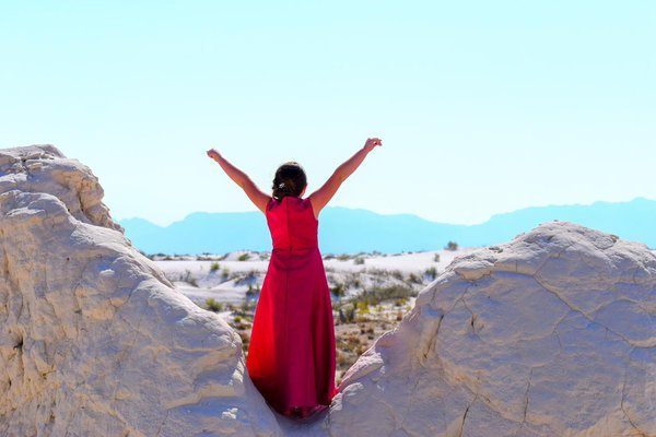 A day filled with joy while exploring White Sands. thumbnail