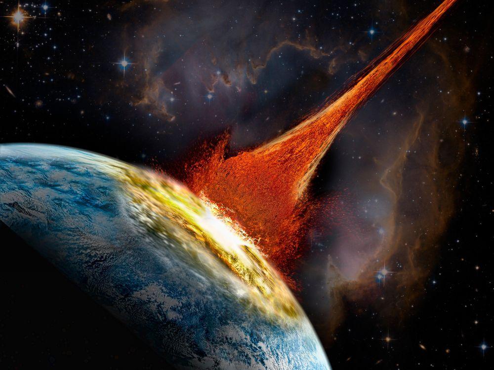 asteroid impact illo.