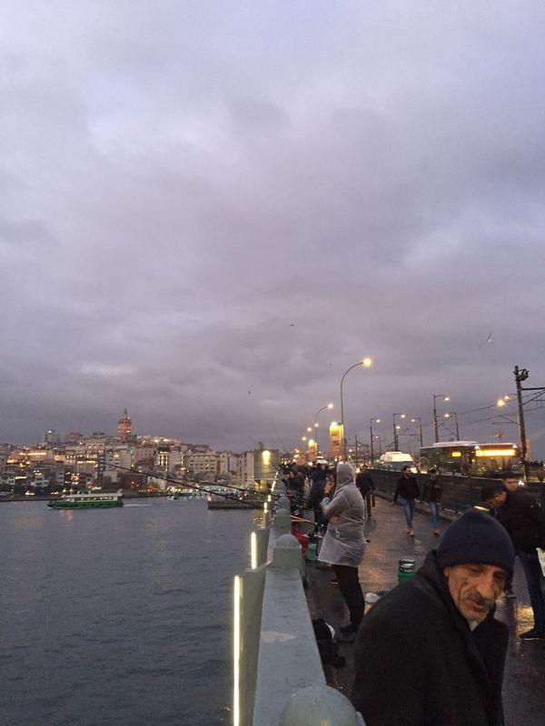 Galata Bridge and Fishermen thumbnail