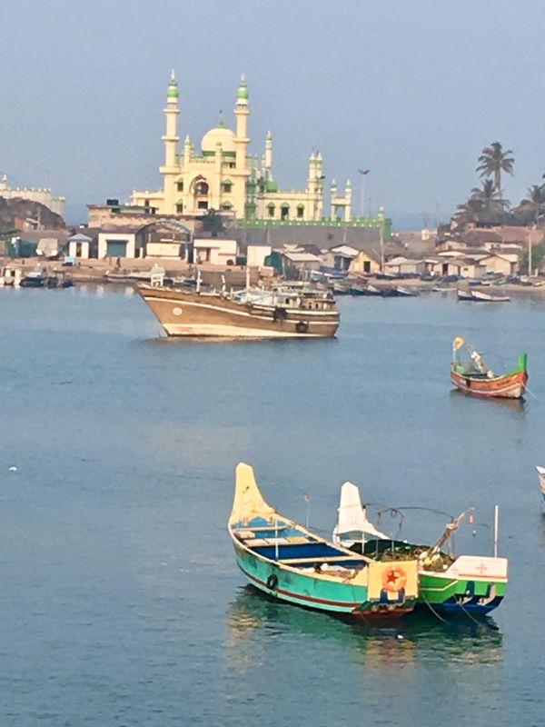 Cochin, India from the Harbor thumbnail