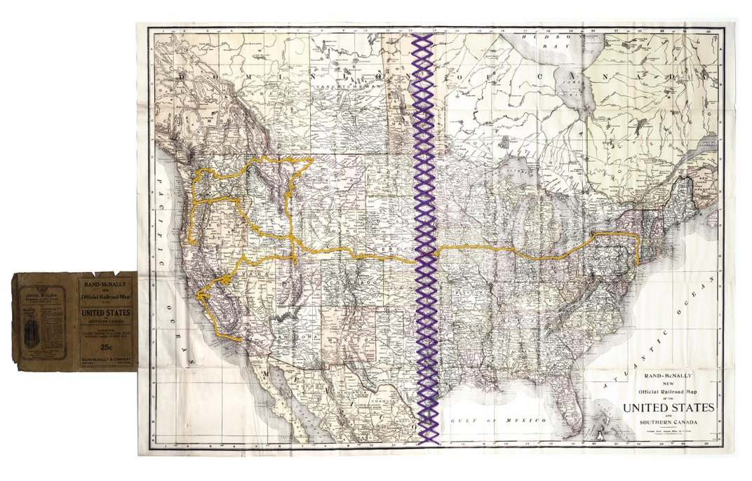 Recreating a Suffragist's Barnstorming Tour Through the American West
