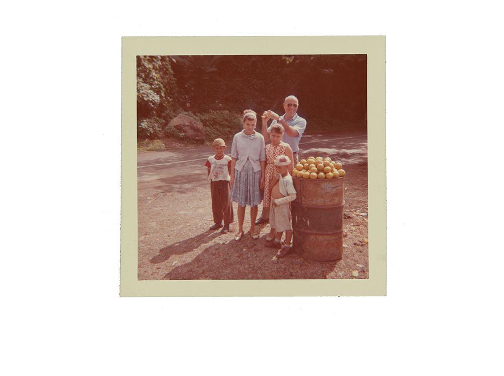 Emilio Sanchez with children in Puerto Rico, 1964. Emilio Sanchez papers, 1922-2012. Archives of American Art, Smithsonian Institution.