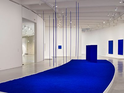 Yves Klein produced controversial and boundary-breaking single-color paintings, elemental canvases of fire, water and air, and even galleries emptied of all artworks.