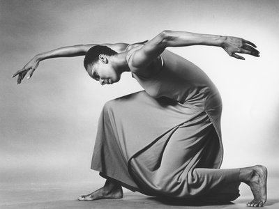 """The Smithsonian's Jack Mitchell Photography of the Alvin Ailey American Dance Theater Collection (Above: Detail of Judith Jamison in """"Revelations,"""" 1967) is now digitized for public viewing."""