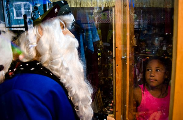 An old but working fortune teller machine mesmerizes youth from any generation. thumbnail
