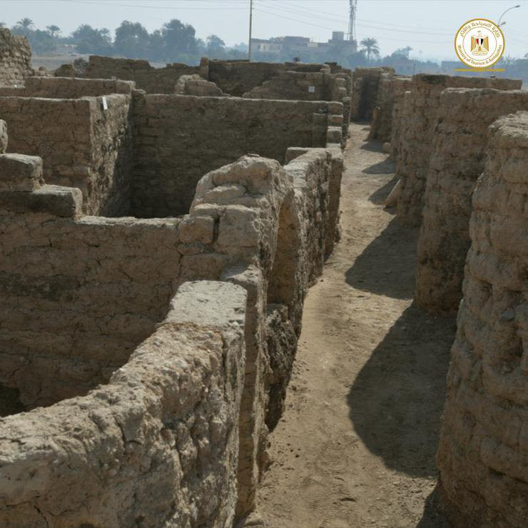 Archaeologists in Egypt Discover 3,000-Year-Old 'Lost Golden City'