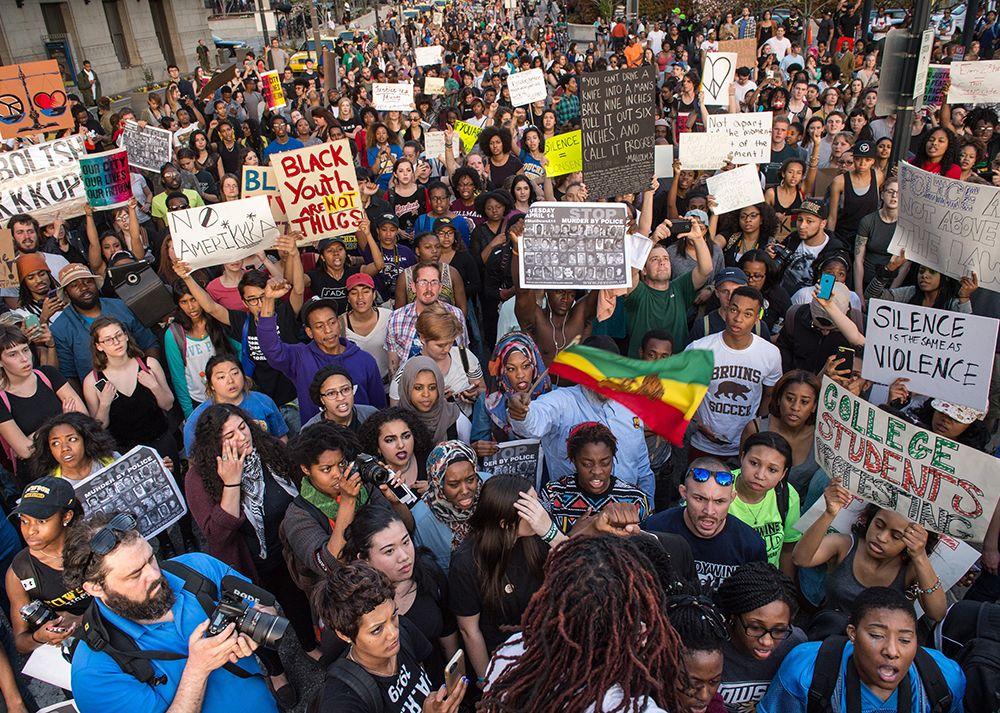 Baltimore Protestors