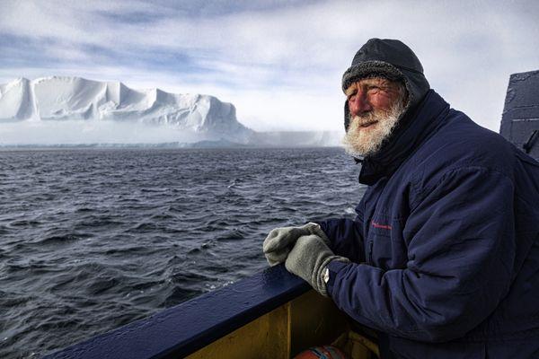 Ross Ice Shelf. Ross Sea. Antarctica thumbnail