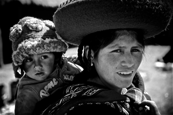 Inca Mother And her Baby thumbnail