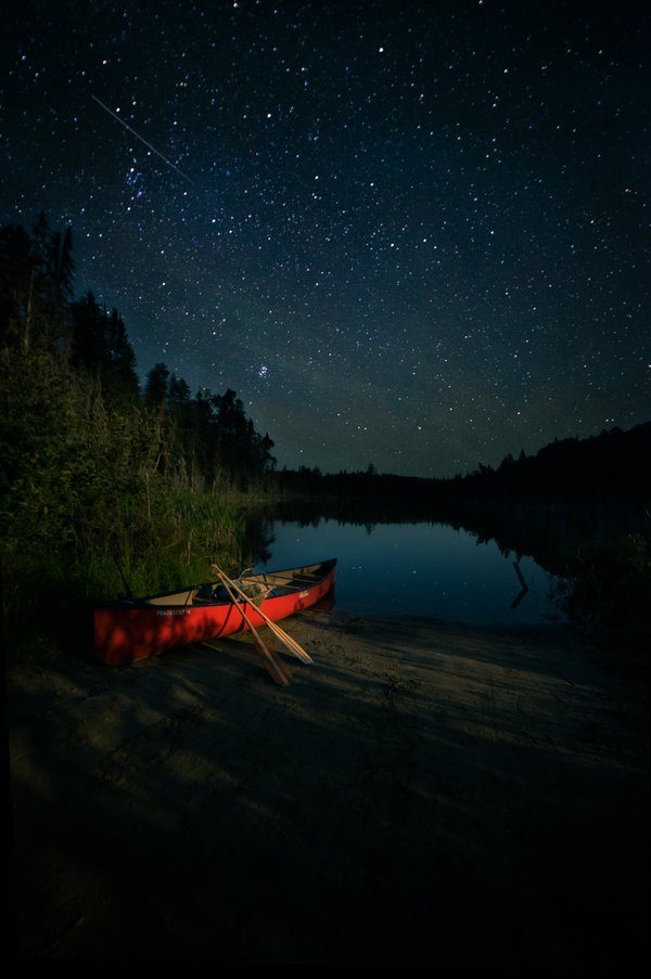 A night sky over Northern Ontario thumbnail