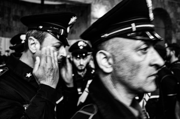 Trieste Police Funeral thumbnail