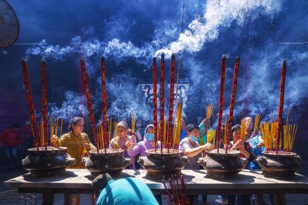 Burning Incense thumbnail