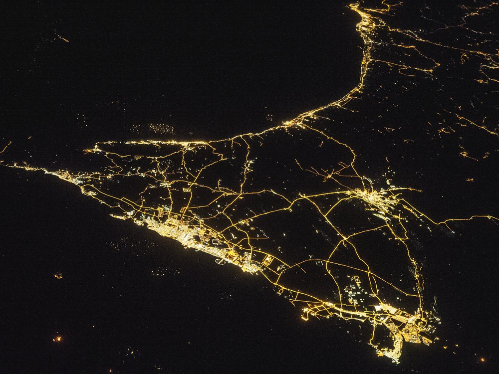 ISS city pic