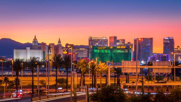 Las Vegas Strip at Sunset thumbnail
