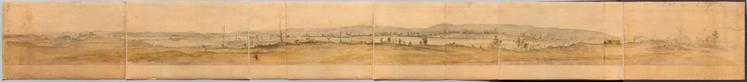 Newly Discovered 235-Year-Old Watercolor Shows Off General Washington's Wartime Tent