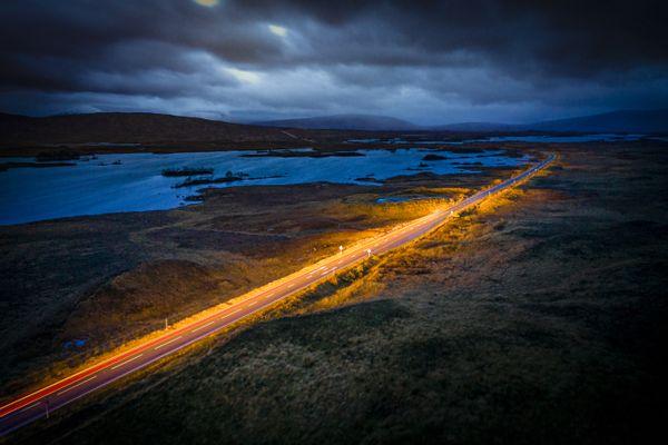 Rannoch Moor before dawn thumbnail
