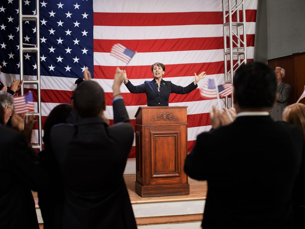 Politician Speaking