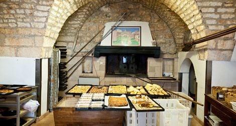 A bakery in Puglia
