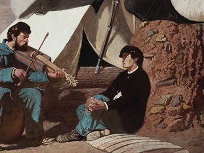 """There are several accounts of Confederate and Union troops camped near one another harmonizing """"Home, Sweet Home!"""" across the battle lines."""