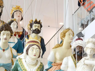 The Box Museum in England will open this May with an exhibit featuring 14 19th-century naval figureheads