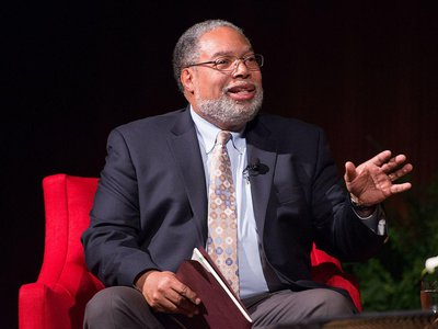 """""""I fell in love with museums, especially the Smithsonian Institution. I like to say that I am the only person who left the Smithsonian twice—and returned,"""" said Lonnie Bunch, who was appointed today to be the Smithsonian's 14th Secretary."""