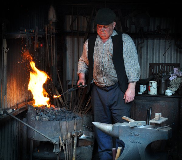A Blacksmith at Beamish Museum thumbnail