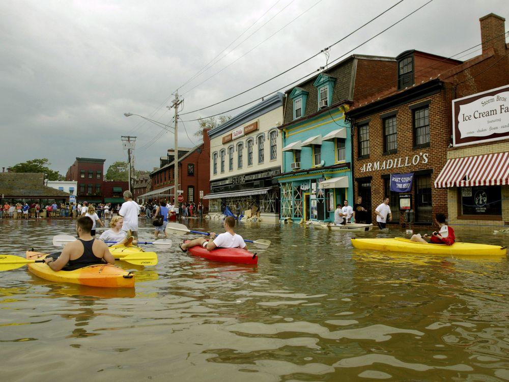 Flooded Annapolis