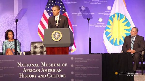Preview thumbnail for The Groundbreaking for the National Museum of African American History and Culture