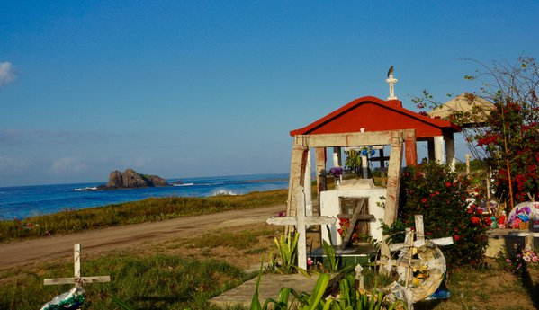 The resting place of mexican seaside village thumbnail