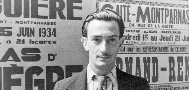 Salvador Dali in Paris
