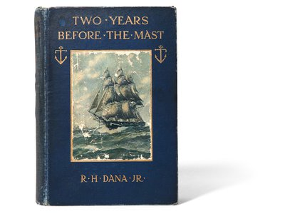 """Melville joked that Dana's descriptions of Cape Horn """"must have been written with an icicle."""""""