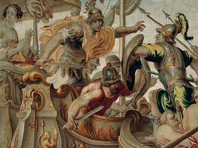 The Battle of Actium, c. 1680.