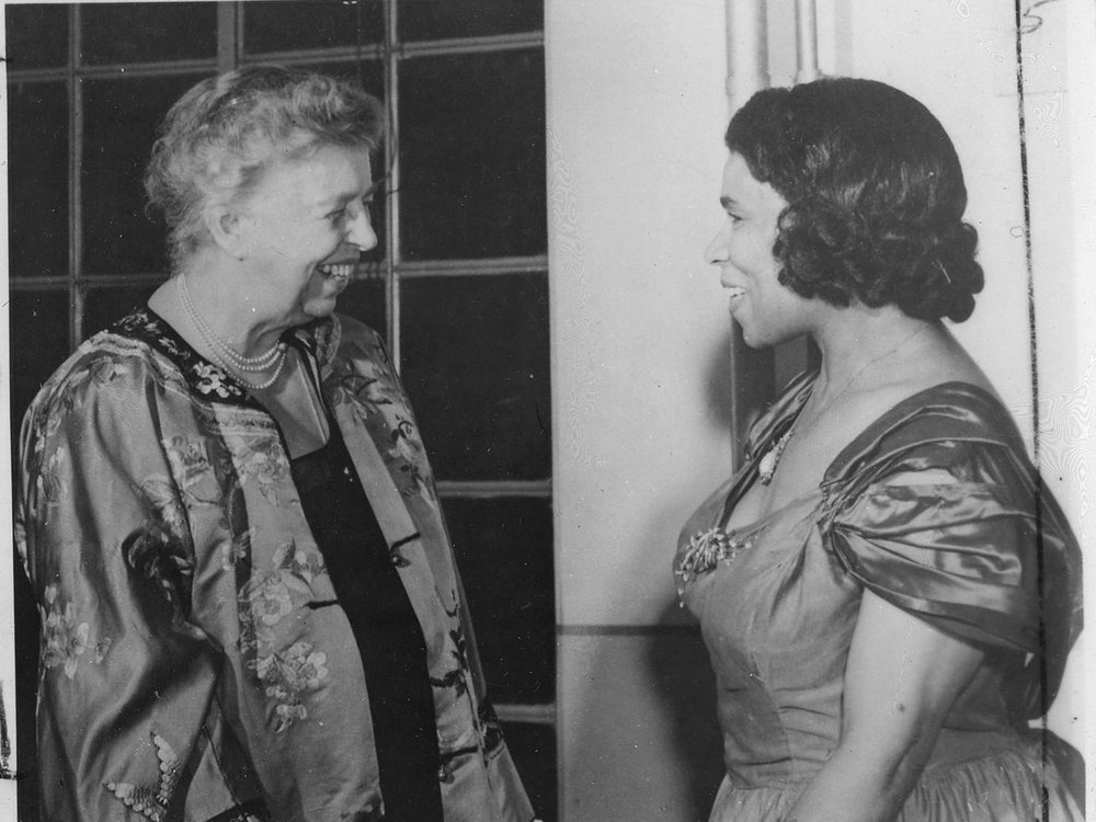 Eleanor Roosevelt and Marian Anderson in Japan